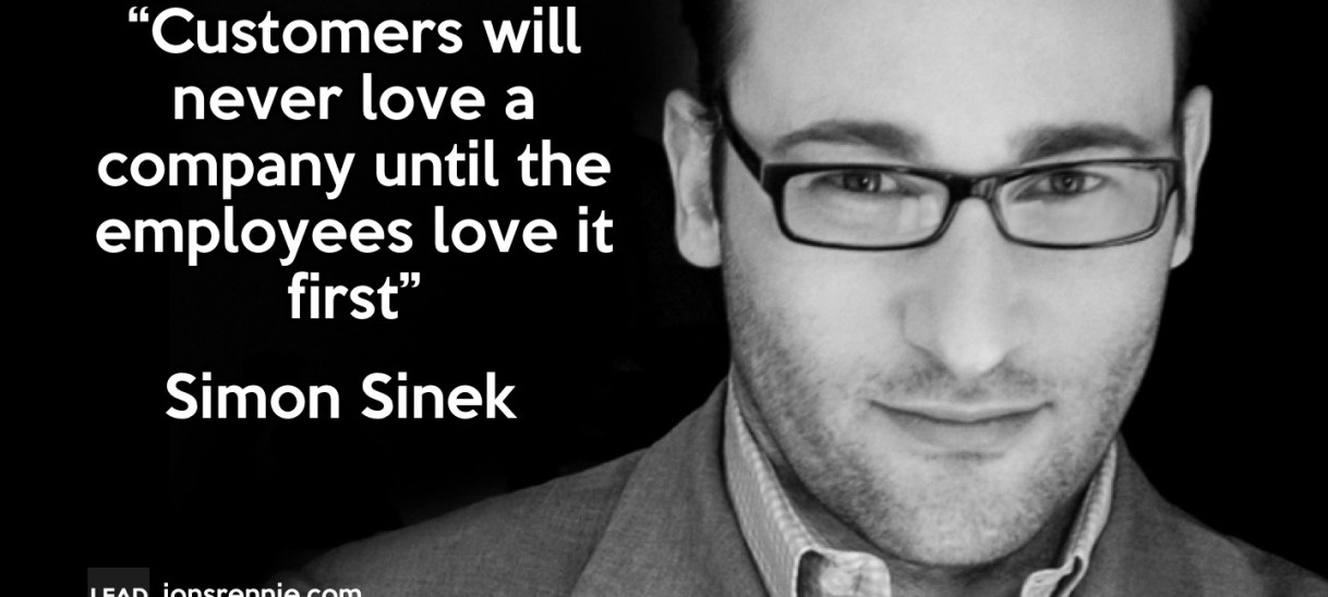 Simon Sinek on Loving your Company