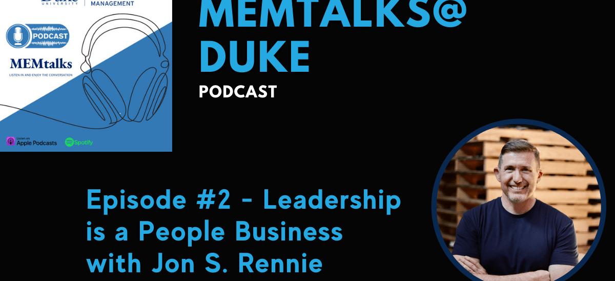 MEMtalks@Duke Podcast