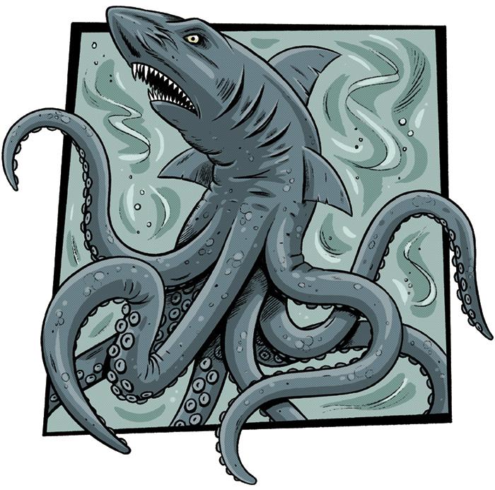 Mythical Monsters - Jon Ternent Illustrator