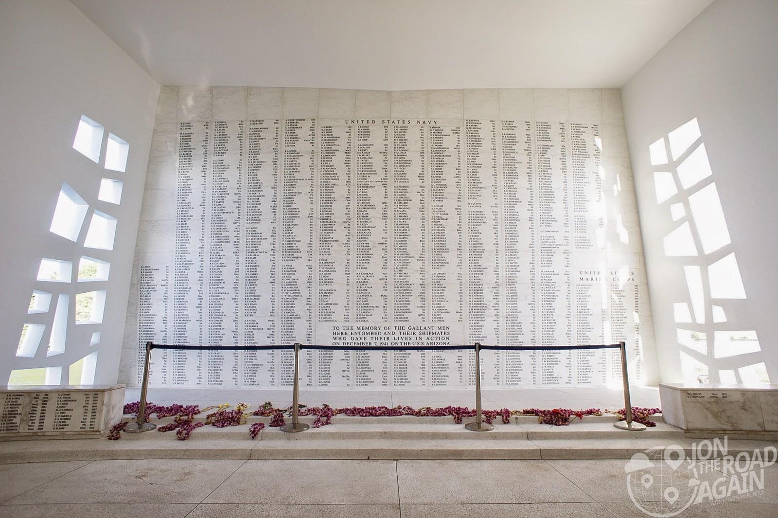 Visiting the USS Arizona Memorial at Pearl Harbor  Jon