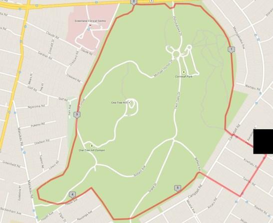 Cornwall Park Loop