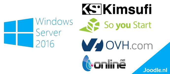 Howto: Windows Server 2016 Evaluation on Kimsufi, SoYouStart, OVH or