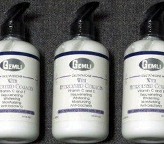 3 Gemli Whitening Collagen lotion new