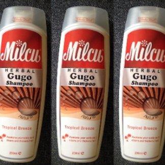 3 Milcu Herbal Gugo Natural Shampoo new