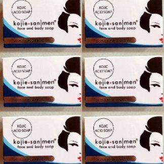 6 kojie san soap for men new
