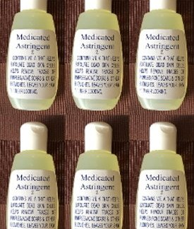 6 medicated astringent new