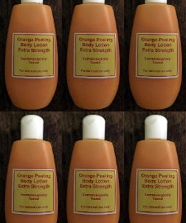 6 orange peeling lotion new