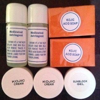 7 pcs kojic acid whitening set new