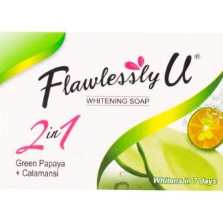 Flawlessly U Green Papaya Soaps