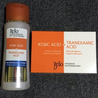 belo tranexamic toner and soap new
