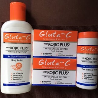 gluta c kojic plus set new