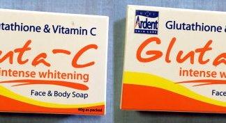 gluta c soaps 60g each new
