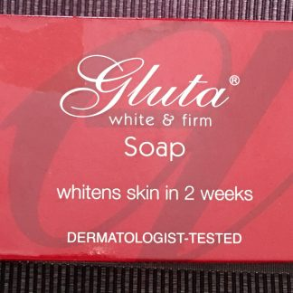 gluta white and firm soap 135g
