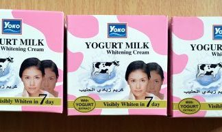 yoko yogurt whitening cream new