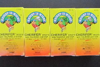 4 Cherifer Baby Infants Drops new