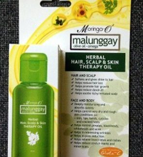 Moringa O Malunggay herbal hair scalp new