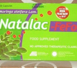 Natalac Malunggay Moringa Folic Acid new