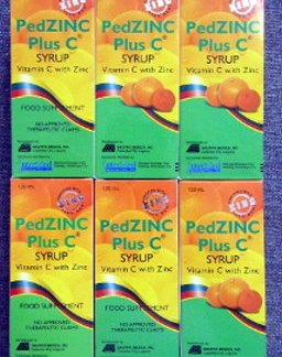 6 PedZinc plus C Vit Syrup new