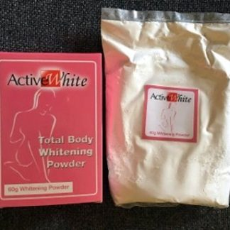 Active White Total Body whitening Powder new