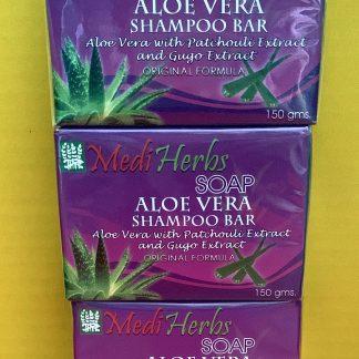 mediherb aloe vera shampoo bar