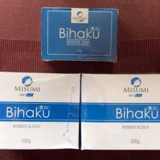 bihaku cream and soap
