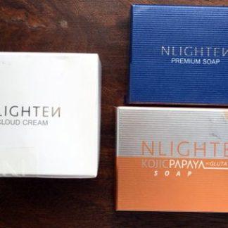 nlighten cloud and 2 soaps