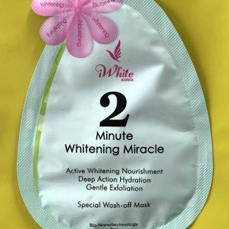 iwhite 2 minute miracle cream