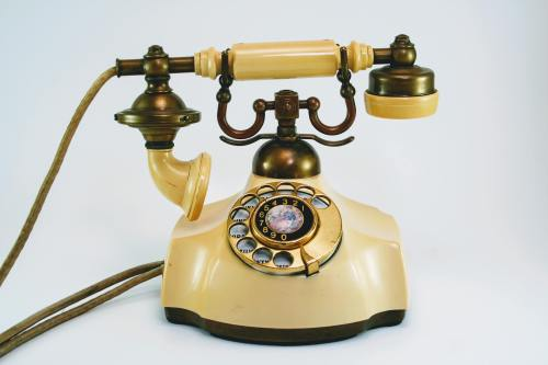 small resolution of antique phone