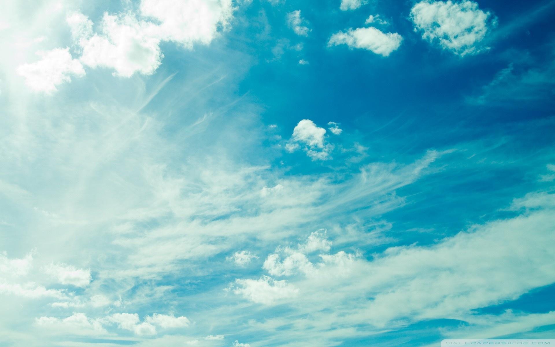 free photo blue sky