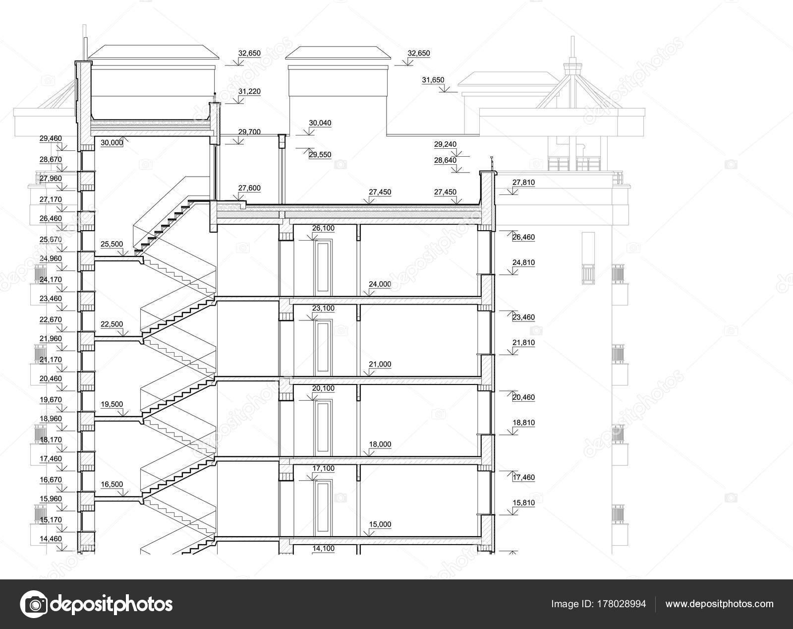 Free Photo Building Blueprint