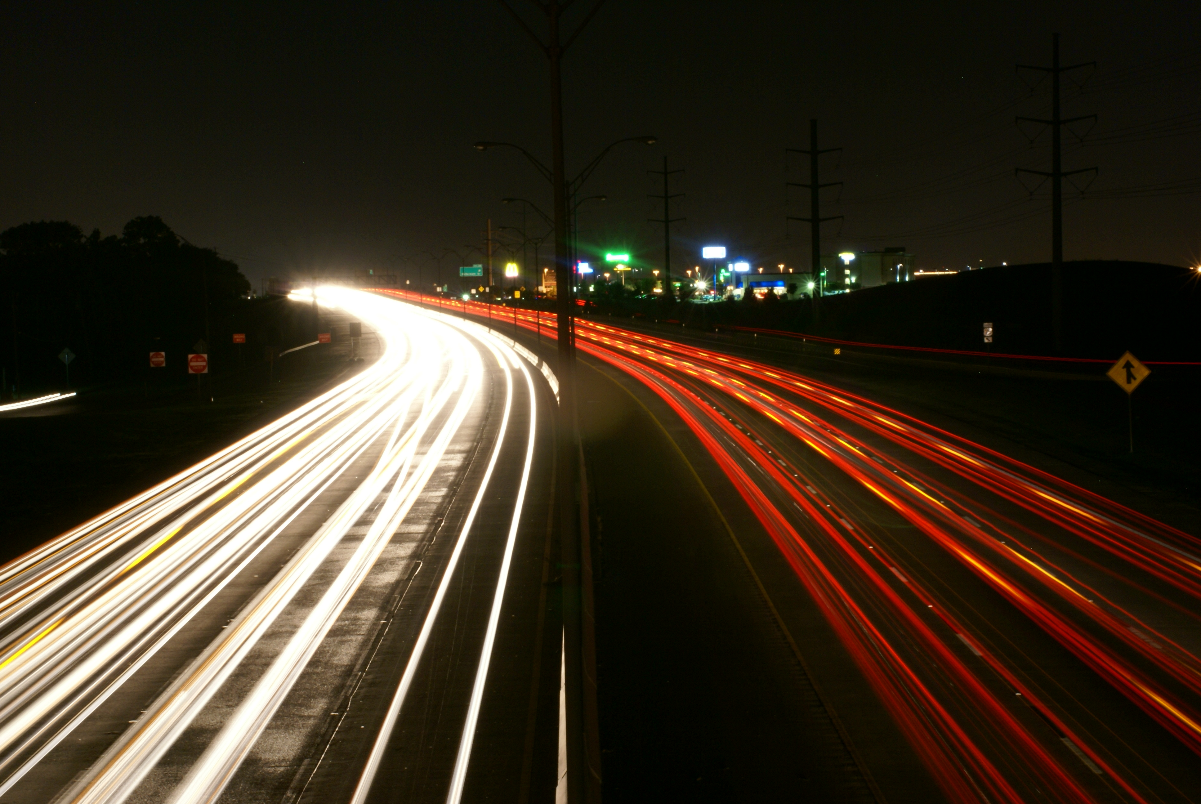 Creative Fall Wallpaper Free Photo Busy Highway Busy Highway Path Free