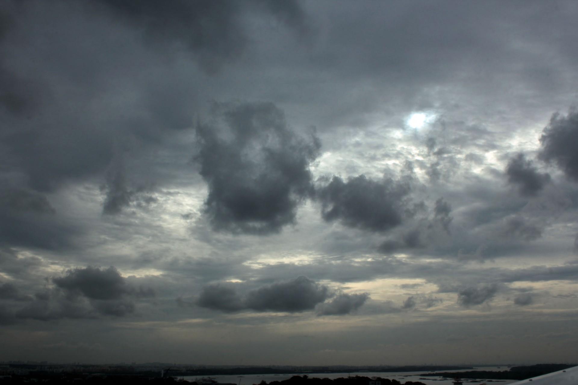 Gloomy Fall Wallpaper Free Photo Dark Sky Storm Stormy Thunderstorm Free