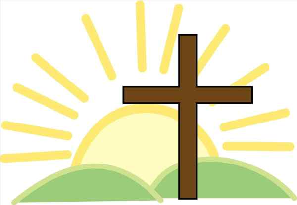 Free Easter Cross Clipart - Religion Religious