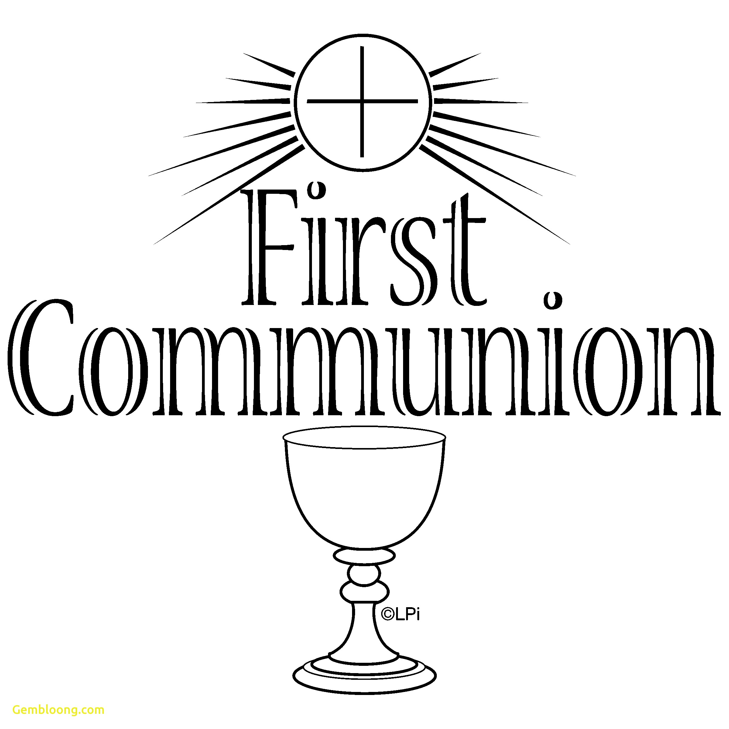 Free Photo Holy Communion Clipart