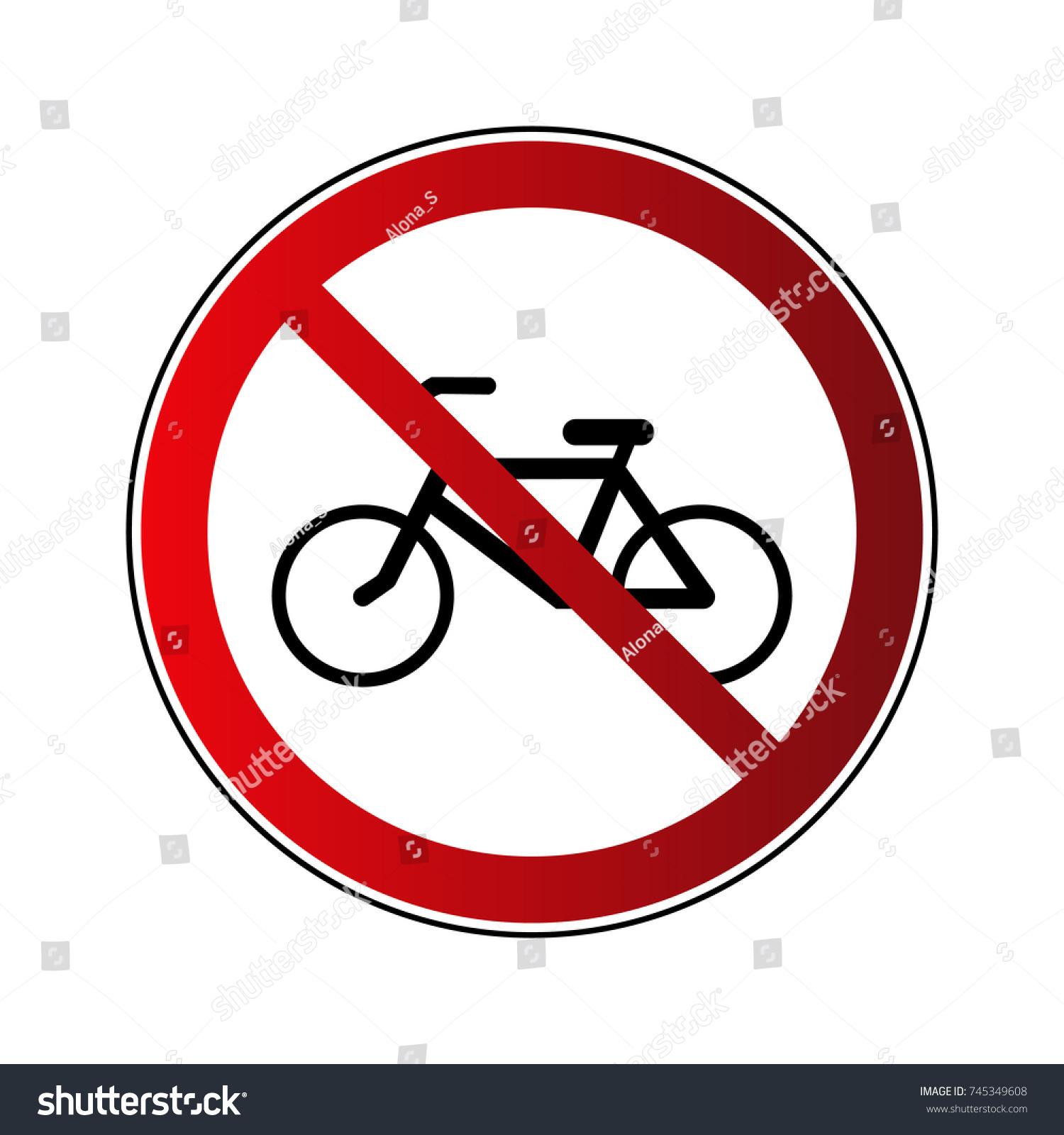 free photo no bicycle