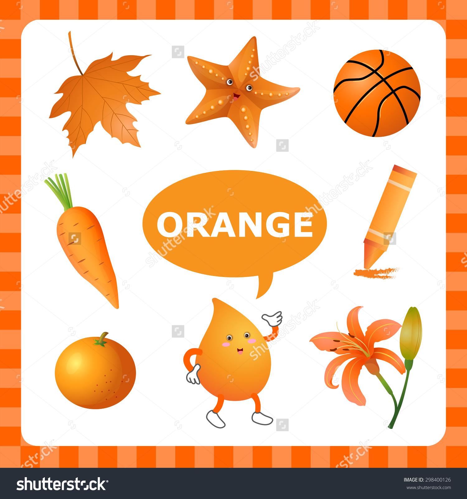 Free Photo Orange Objects