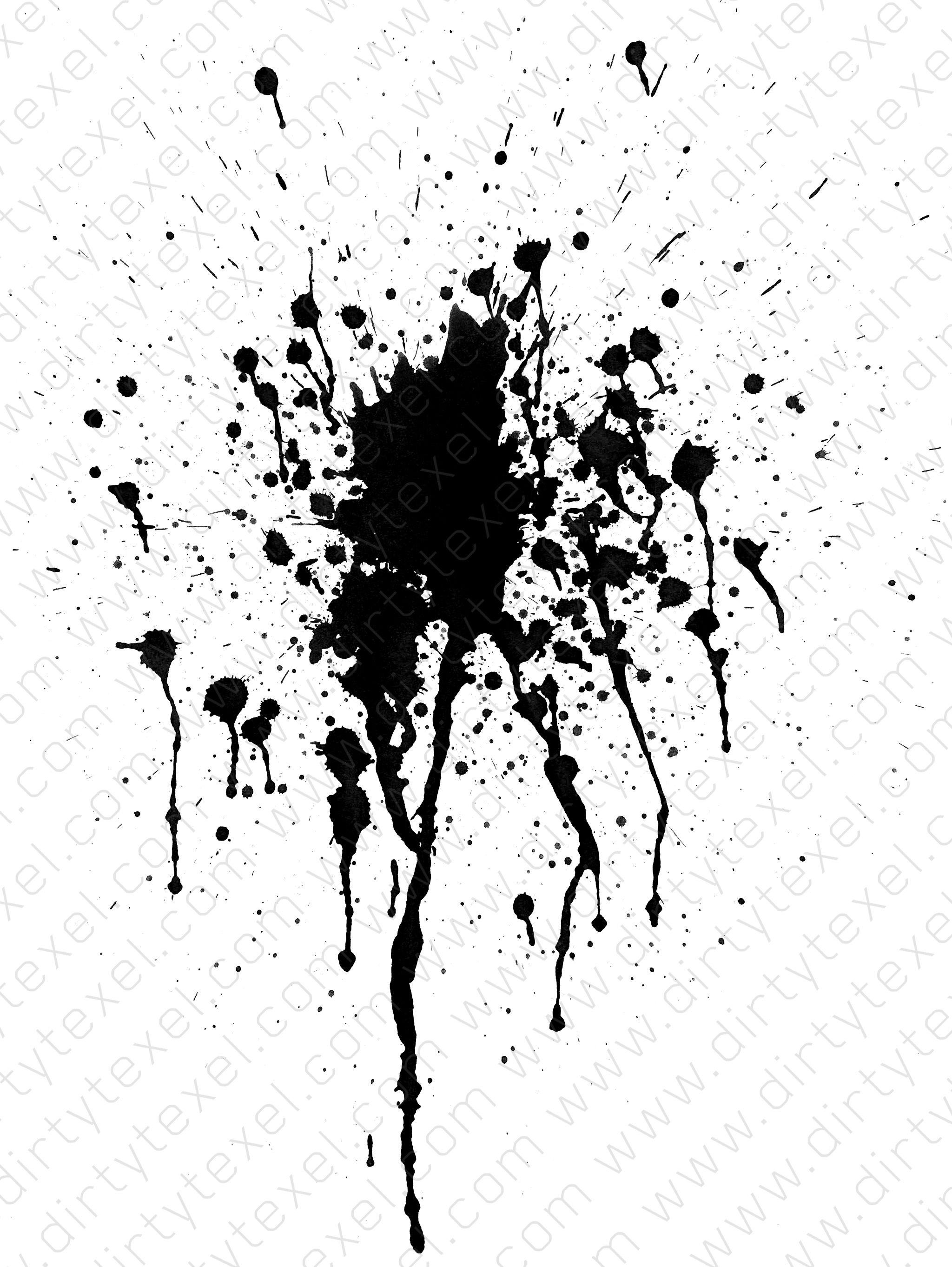 Free Photo Paint Splatter Texture