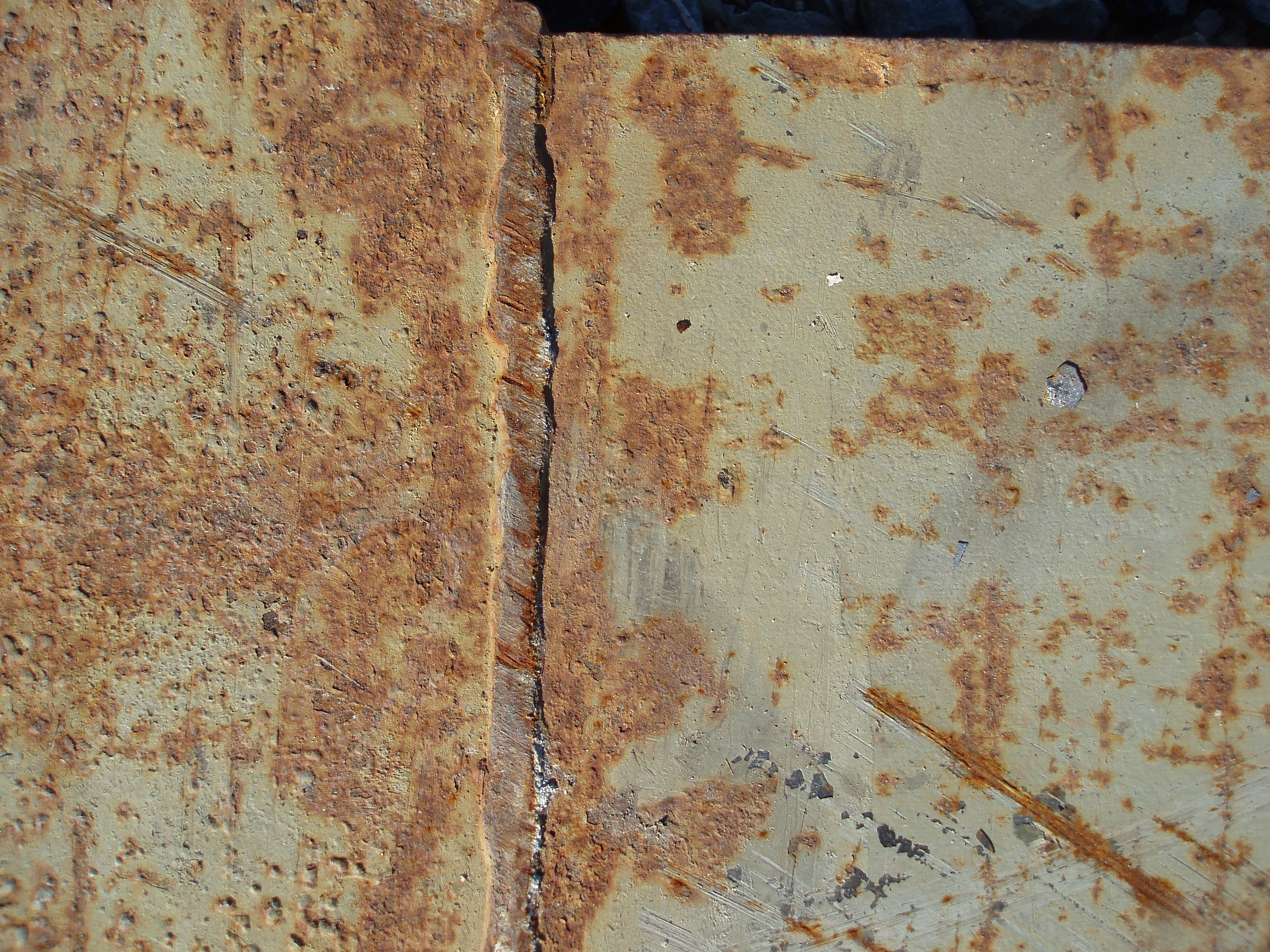 Fall Plate Wallpaper Free Photo Rusted Metal Surface Streams Surface