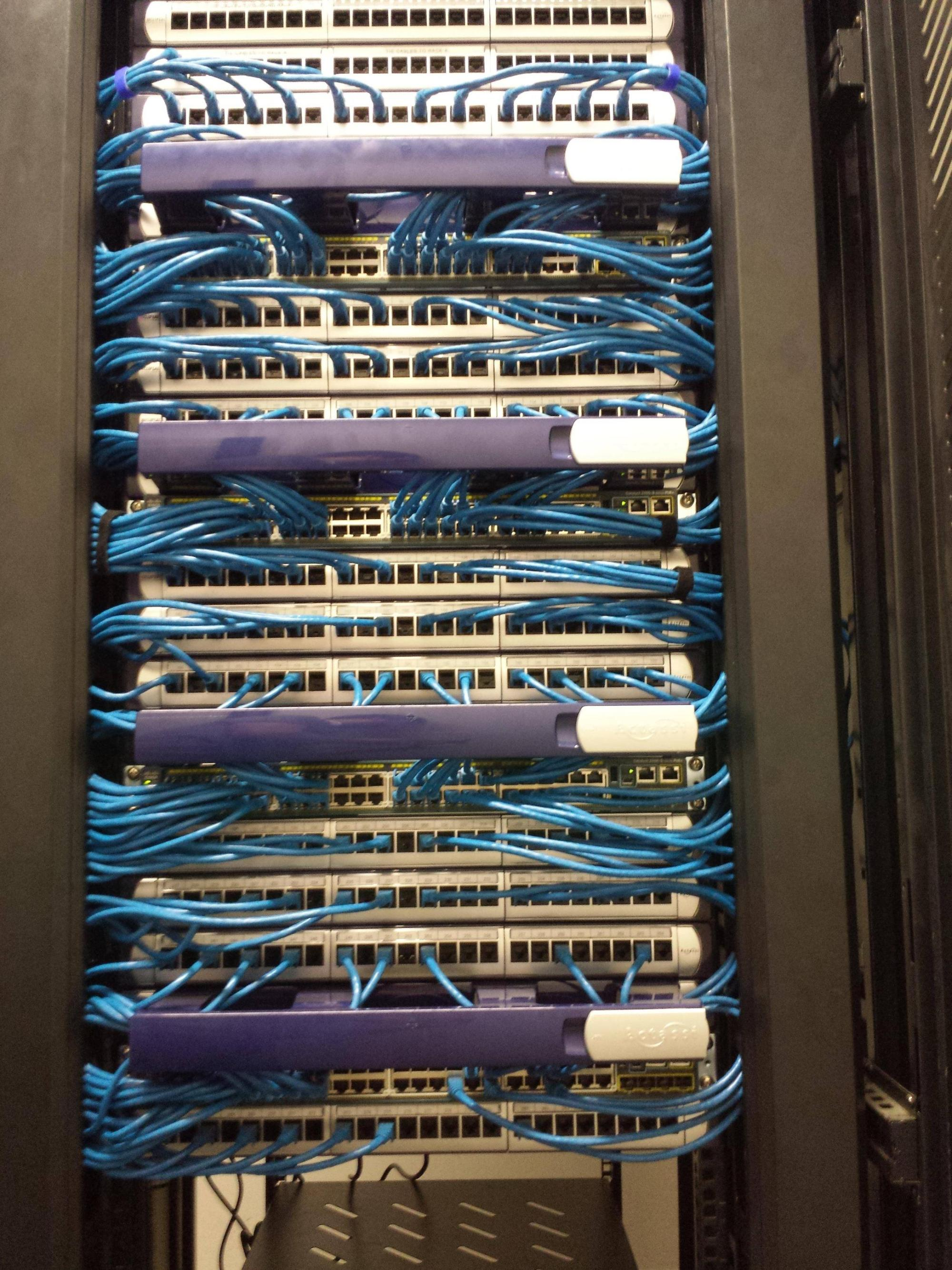 hight resolution of server network cables