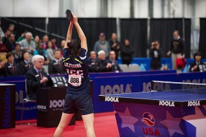 Lily Zhang wins her first US Women's Singles Title!