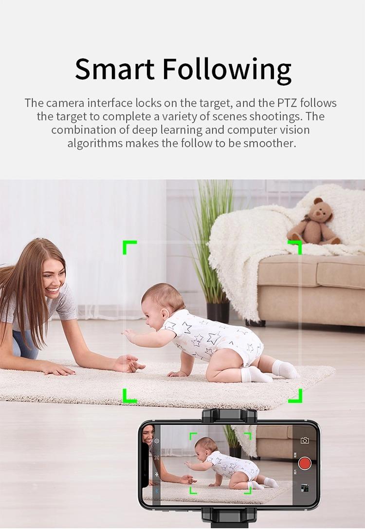 Gimbal personal robot cameraman 360