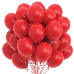 Rød Latex Helium Ballonger