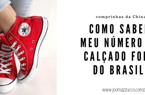 Elegance Functionality 85 - Como saber meu número de calçado fora do Brasil?