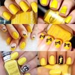 Inspiração para o Finde: Uma Seleção de Unhas Amarelas, pra Você se Jogar Já!