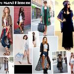 Desejo de: Maxi Kimono + Inspirações de Como Usar