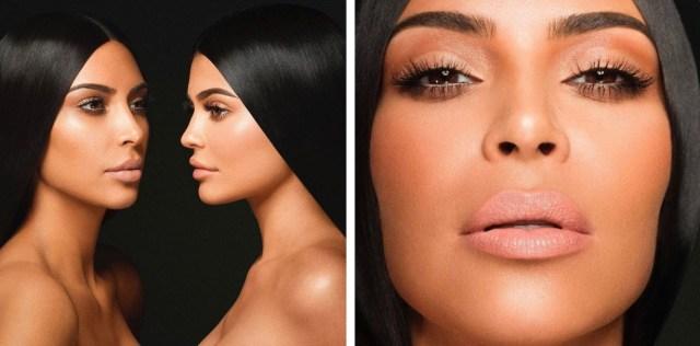 kardashian jenner 02 - KKW by Kylie Cosmetics - A Linha de Batons da Kim em Parceria com a Kylie
