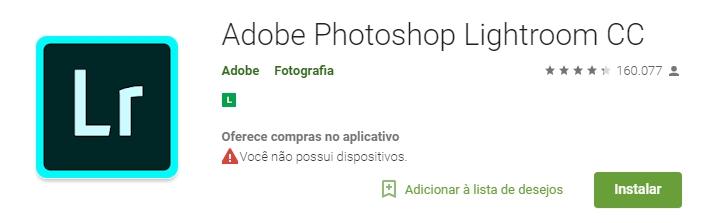 lightroom - 4 Apps de Fotografia e Edição que Você precisa Testar