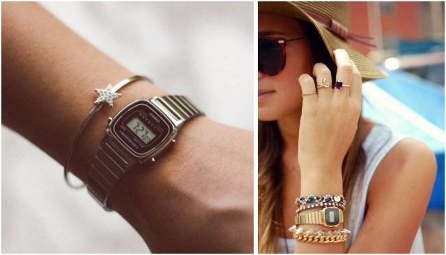 Relogio Casio Vintage 04 - Vintage Trendy: O Relógio Casio Queridinho das Fashionistas