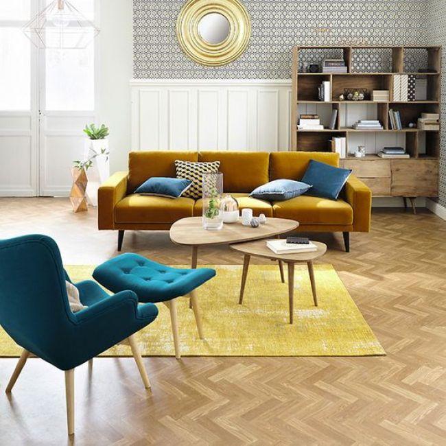 inspiração sofa amarelo - Decorlover: 4 Sófas Diferentões e Estilosos pra Desejar Agora!