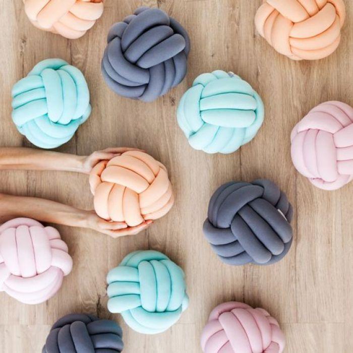 Como Usar e Como Fazer Almofada de nó 1 - Decorlovers: Como Usar e Como Fazer Almofada de Nó